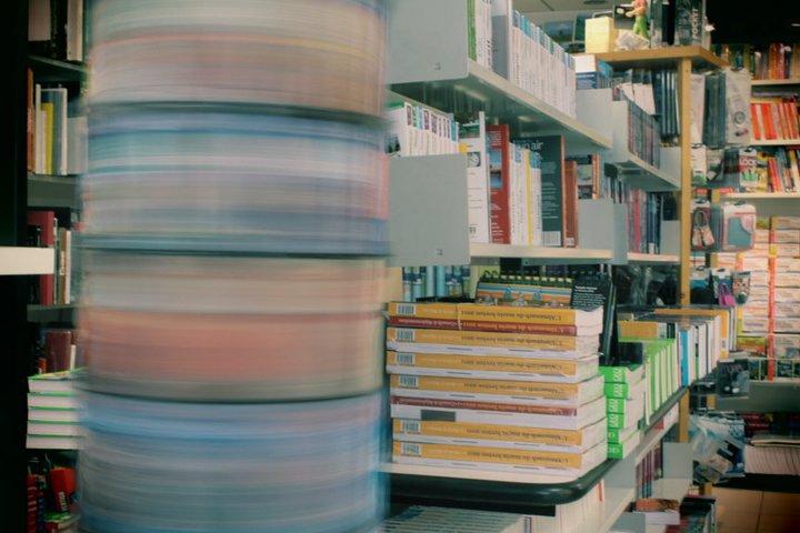Dans la librairie du voyage